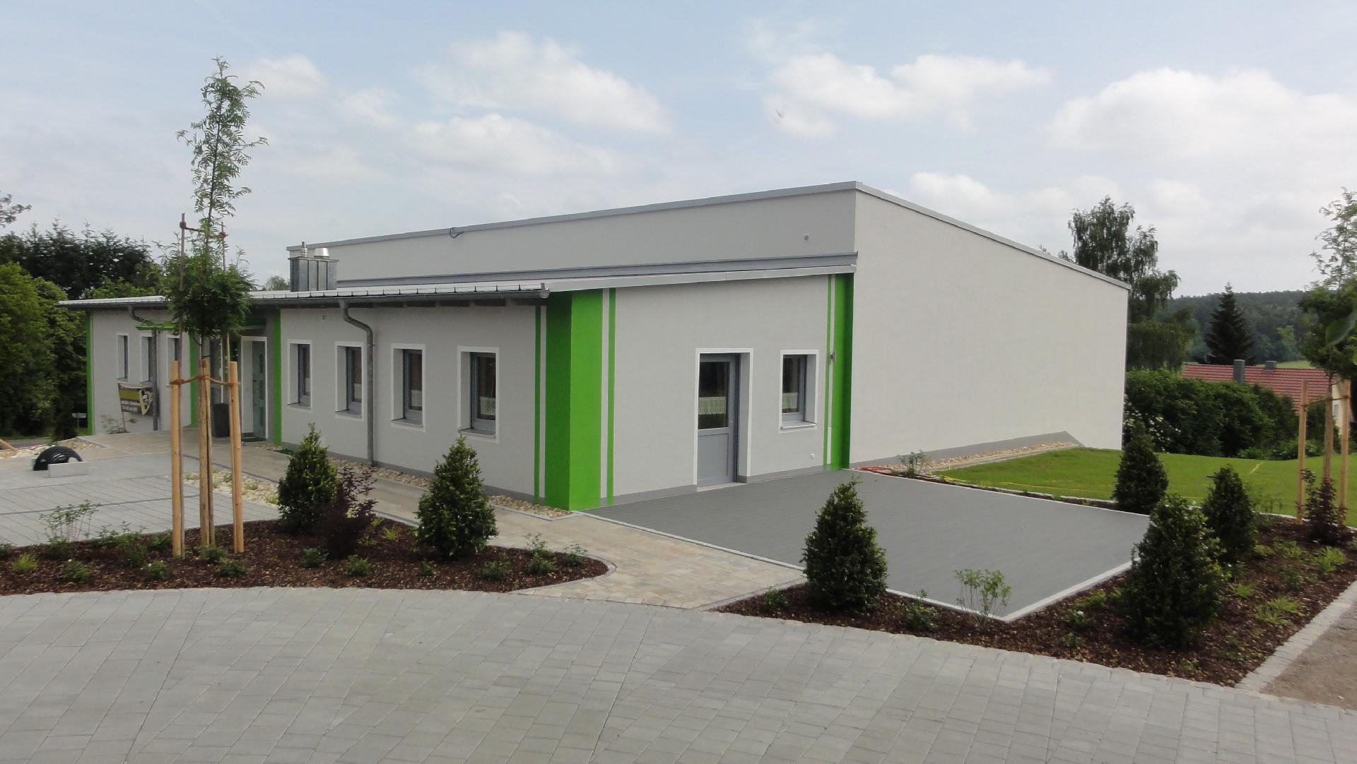Turnhalle TSV-Strahlfeld